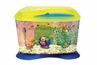 Spongebob Jellyfish Fields Aquarium Kit 6 Gallon Tank Opening Lid Background