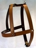 "Standard Leather Dog Harness 1"" x 32"" Tan"