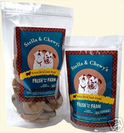 Stella & Chewy's Freeze Dried Lamb Steaks (12 Steak 6oz Bag)