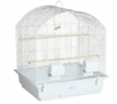 """Supreme"" Parakeet/Canary Cage, White Painted Finish"