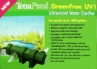 TetraPond GreenFree Ultraviolet Water Clarifiers