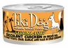 Tiki Dog Lahaina Luau Succluent Chicken on Brown Rice in Crab Consomme Canned Dog Food Case of 12 / 2.8oz Cans