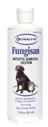 Tomlyn Fungisan� Antiseptic Germicidal Solution for Dogs 12 oz.