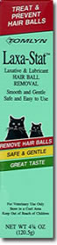 Tomlyn Laxa-Stat Lubricant for Hairballs 4 oz