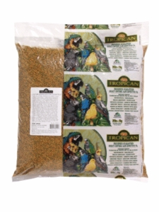 """Tropican"" Lifetime Maintenance Cockatiel Granules, 20 lbs., handle bag"