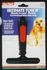 Ultimate Touch Undercoat Rake w/ non-slip grip (smaller dog) by Four Paws