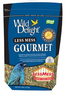 Wild Delight Less Mess Gourmet 5 Lb Bag