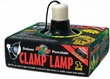 "Zoo Med� Deluxe Porcelain Clamp Lamp 5-1/2"" #LF-11"