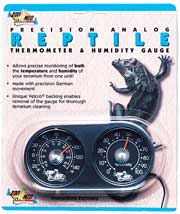Zoo Med® Reptile Thermometer & Humidity Gauge #TH-22