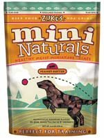 Zukes Mini Naturals Peanut Butter Flavor 1 lb Bag