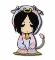 BLACK BUTLER SEBASTIAN COW PATCH