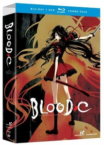Blood-C DVD/Blu-ray Complete Series Limited Edition