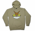 Cheshire Cat Bus (Totoro) Hoodie (tan) Small