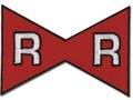 DRAGON BALL Z RED RIBBON MARK PATCH