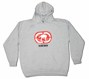 Echo Base (Ecko Unlimited/Star Wars Parody) Hoodie (grey) Large