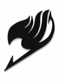 Fairy Tail Patch: Black Guild Symbol