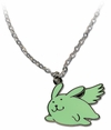 Hetalia Axis Powers Necklace: Flying Mint Bunny
