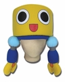 MEGA MAN LENDS SERVBOT PLUSH HAT