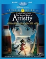 The Secret World of Arrietty DVD/Blu-ray Combo