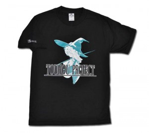 Touhou Project T-Shirt (black) L