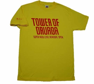 Tower of Druaga T-shirt L (yellow)