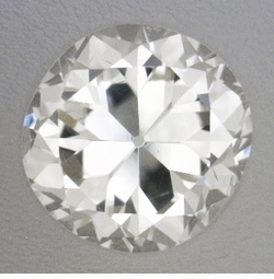 0.23 Carat Loose Vintage Transitional Round Brilliant Cut Diamond J Color VS2 Clarity