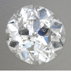 0.24 Carat Loose Cushion Cut Diamond H Color I2 Clarity