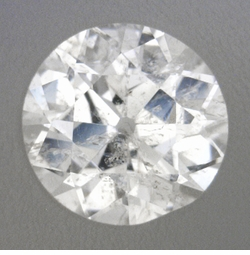 0.24 Carat Loose Old European Cut Diamond F Color I1 Clarity