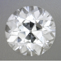 0.27 Carat Loose Old European Cut Diamond D Color SI1 Clarity