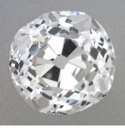 0.28 Carat Loose Old Mine Cut Diamond H Color SI1 Clarity