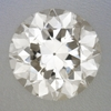 0.34 Carat Loose Transitional Round Brilliant Cut Vintage Diamond L Color SI3 Clarity