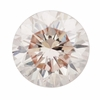 0.35 Carat Loose Pale Peach Pink Color Diamond | Round Brilliant VS2 Clarity