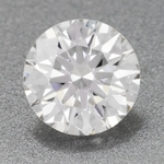 0.36 Carat Ideal Cut Hearts and Arrows Loose Round Diamond G Color VS1 Clarity EGL USA Certificate   Gorgeous!