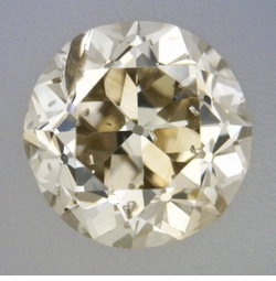 0.37 Carat Loose Old European Cut Diamond L Color SI3 Clarity