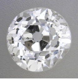 0.38 Carat Loose Old European Cut Diamond H Color SI1 Clarity