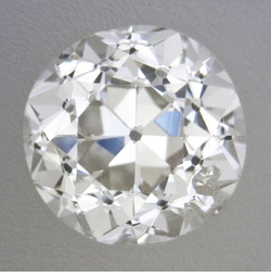 0.38 Carat Loose Old European Cut Diamond I Color SI2 Clarity