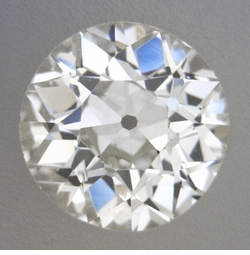 0.40 Carat Loose Old European Cut Diamond H Color SI1 Clarity