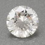 0.41 Carat Excellent Hearts and Arrows Cut | J Color SI1 Clarity Loose Round Brilliant Natural Diamond | EGL Certified