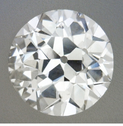 0.43 Carat Loose Old European Cut Diamond H Color SI1 Clarity
