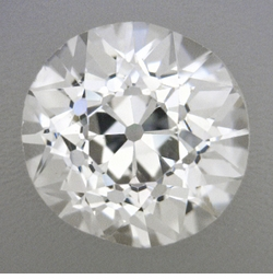 0.45 Carat Loose Early Old European Cut Diamond H Color VS2 Clarity