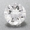 0.52 Carat D Color SI2 Clarity Loose Round Diamond | 100% Eye Clean | EGL USA Certified
