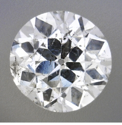 0.53 Carat Loose Old European Cut Diamond G Color SI3 Clarity