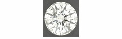 0.54 Carat H Color SI3 Clarity Loose Round Brilliant Natural Diamond | Excellent Hearts and Arrows Cut | EGL Certified