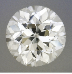0.54 Carat Loose Old European Cut Diamond M Color VS1 Clarity