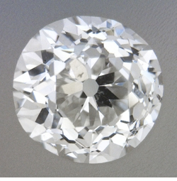 0.56 Carat Loose Old European Cut Diamond G Color SI1 Clarity