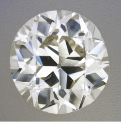 0.57 Carat Loose Cushion Modified Brilliant Cut Diamond L Color SI1 Clarity