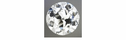 0.70 Carat Loose Old European Cut Diamond G Color VS2 Clarity