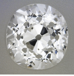 0.90 Carat Loose Cushion Cut Diamond H Color SI1 Clarity