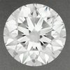 0.93 Carat Natural Loose Round Diamond H Color VS1 Clarity with EGL Certificate | Very Good Cut