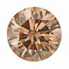 1.01 Carat Loose Natural Fancy Brown Cinnamon Color Diamond | Round Brilliant Sl1 Clarity